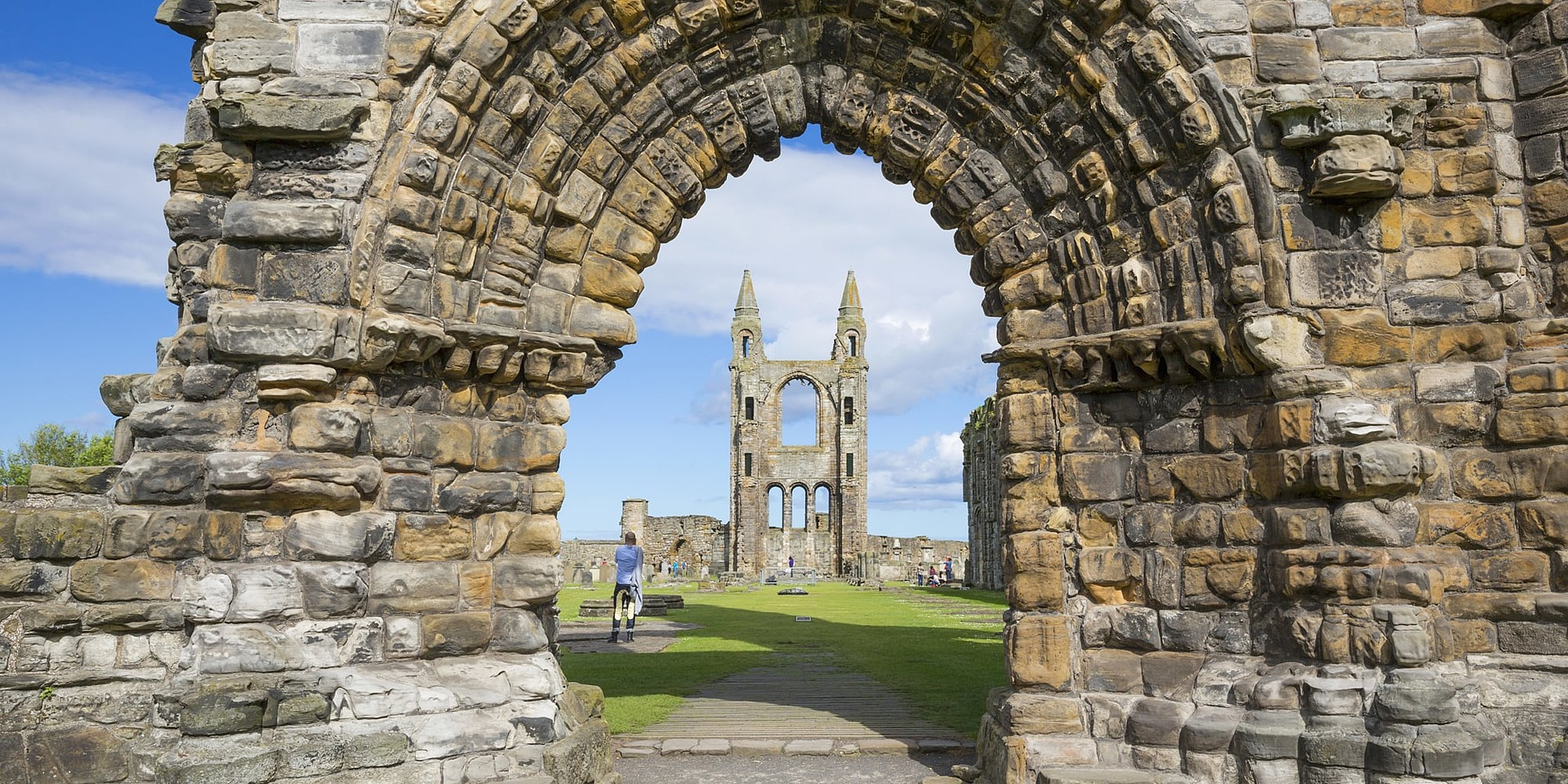 St Andrews Cathedral, Fife ©VisitScotland/Kenny Lam