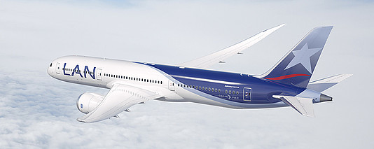 Boeing 787-9 der LAN Airlines © LATAM Airlines Group