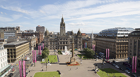 George Square in Glasgow © Glasgow Life