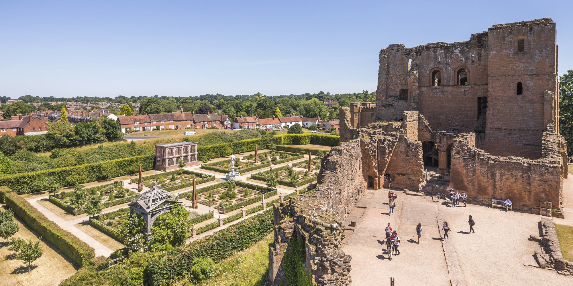 Entdecken Sie Kenilworth Castle in Warwickshire. © England's Waterways