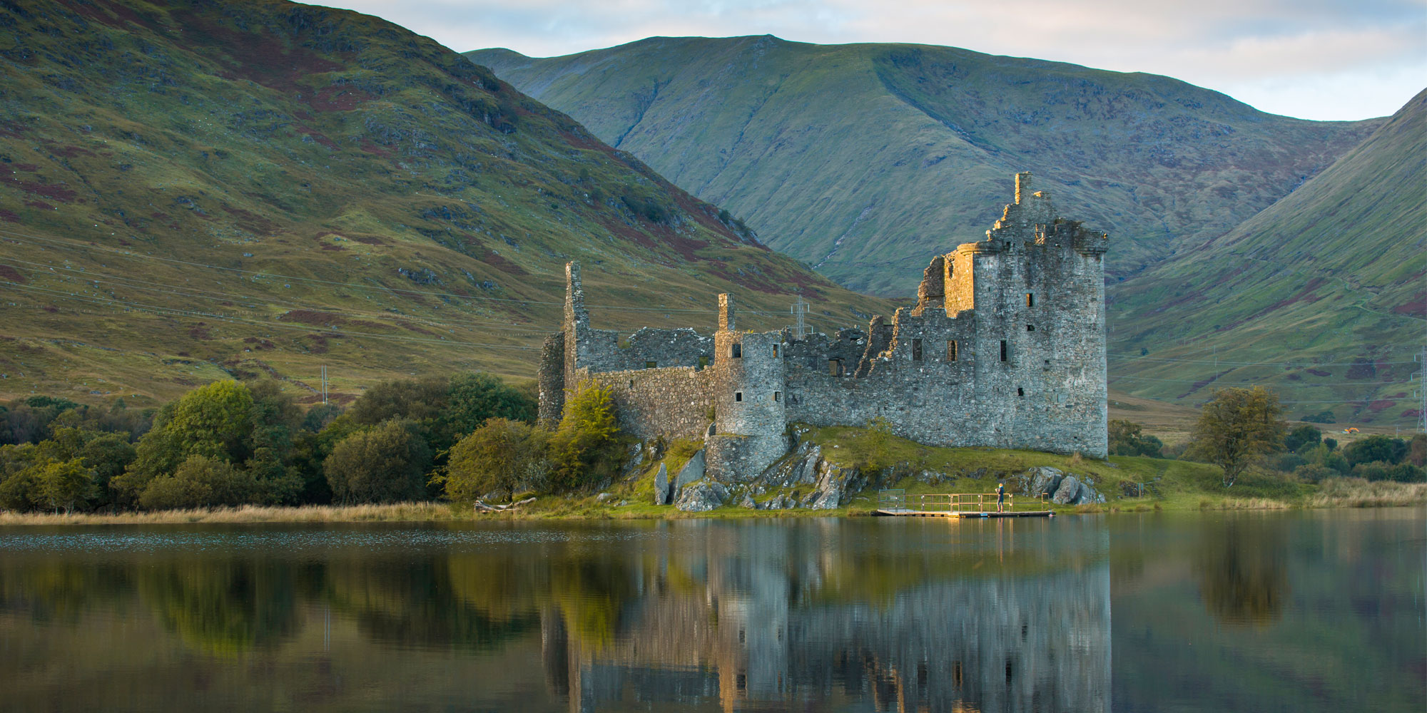 Kilchum Castle bei Loch Awe © VisitScotland/Kenny Lam